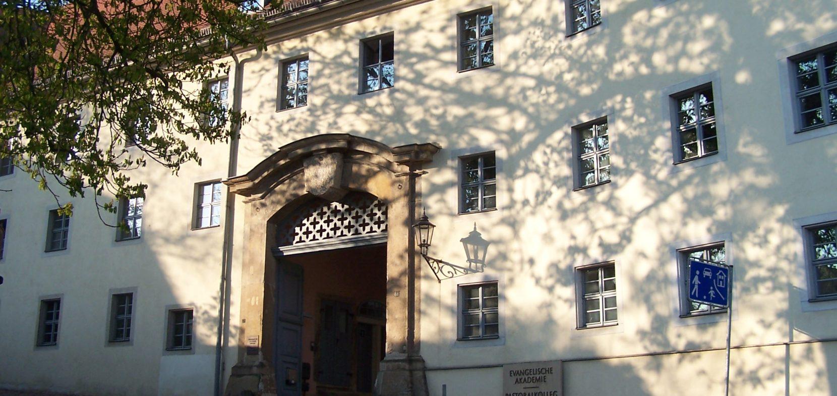 Eingang zum St.-Afra Klosterhof